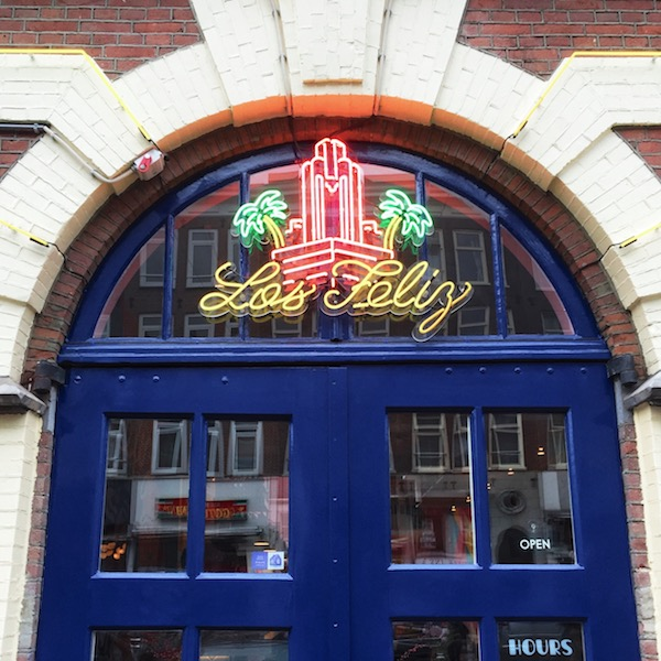 Brunch and amazing cocktails at Los Feliz in Amsterdam!