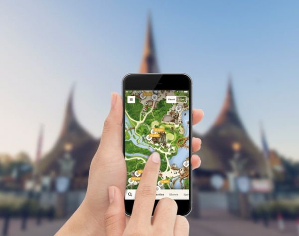 Download de Efteling app voor tips en tricks