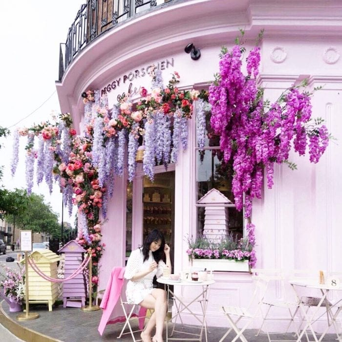 instagrammable-cafes-london-Peggy Porschen 2